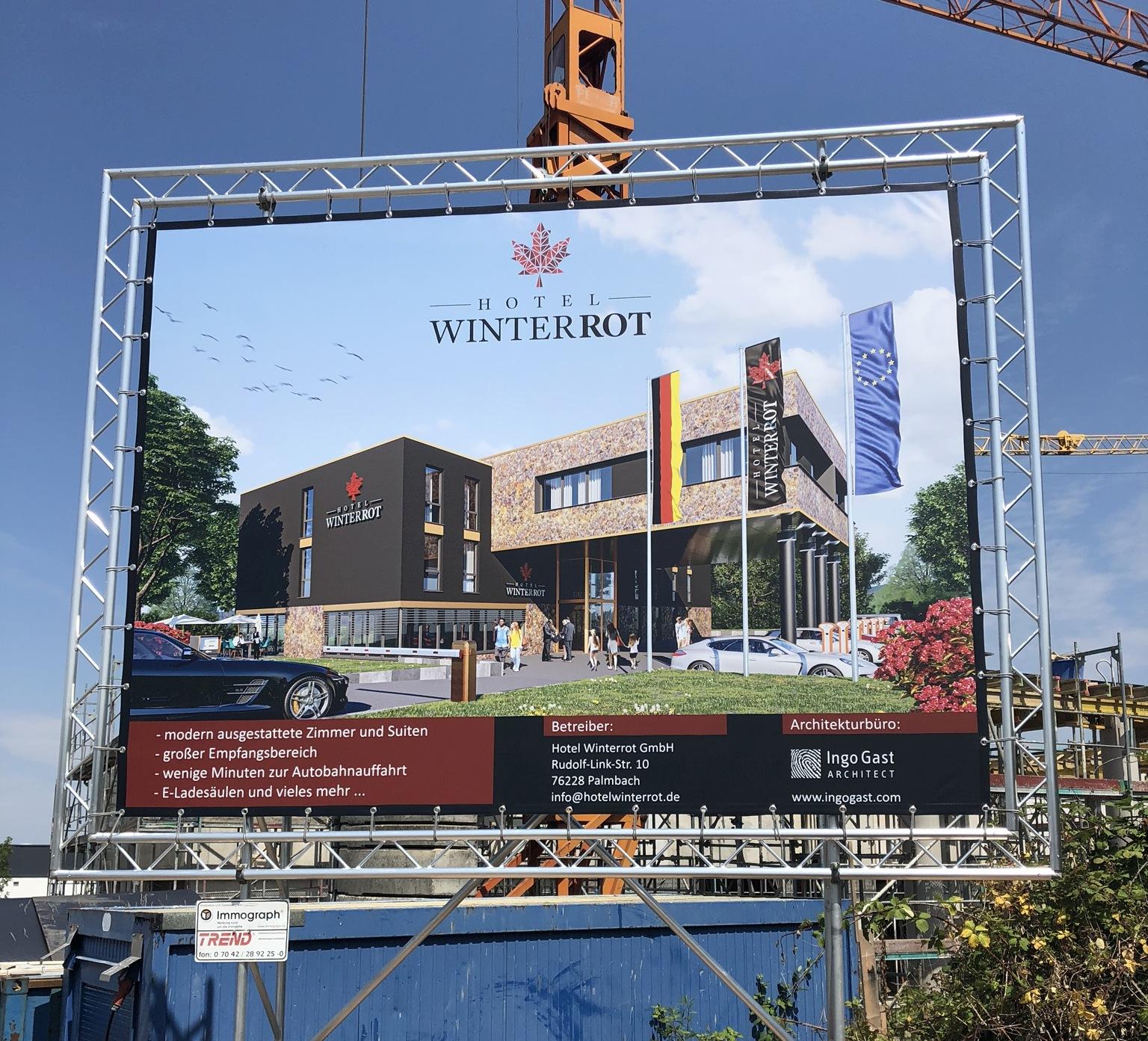 Hotel Winterrot in Karlsruhe - Palmbach