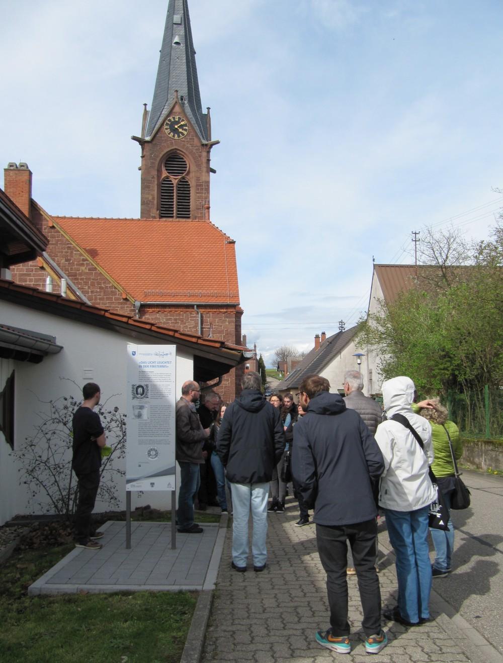Führung am Waldenserweg in Palmbach