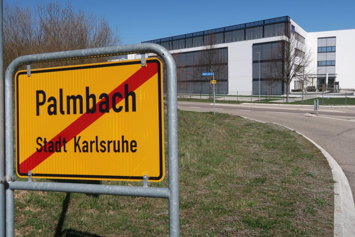 Gewerbegebiet Winterrot, Karlsruhe-Palmbach, Rudolf-Link-Straße