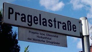 Pragelastraße in Walldorf