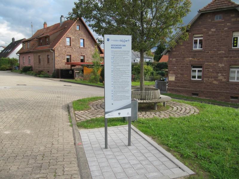 Waldenserweg Palmbach Stele Nr. 8